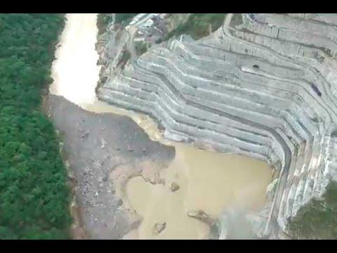 En el interior de Hidroituango: mientras avanza la obra, caudal del río disminuye | Noticias Caracol