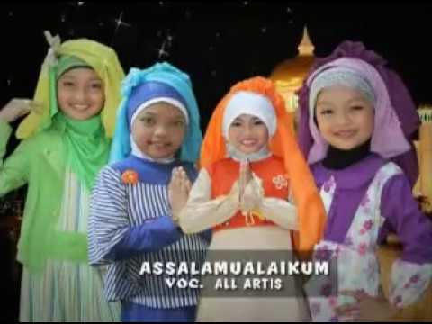 lagu sholawat anak islami mila meylani assalamualaikum youtube