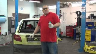 Вклейка стекла двери багажника Матиз.(Ролик рассказывает о том, как заменить заднее стекло Матиз. Полезные ресурсы: http://www.youtube.com/sapsanauto - мой канал..., 2014-02-07T08:16:03.000Z)