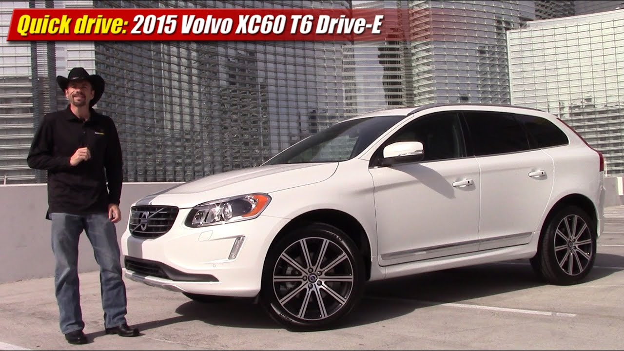 quick drive 2015 volvo xc60 t6 drive e youtube. Black Bedroom Furniture Sets. Home Design Ideas