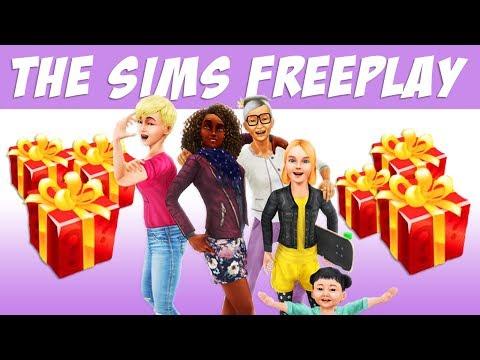 The Sims FreePlay Много ящиков с богатством и распродажа / Прохождение Симс Фриплей