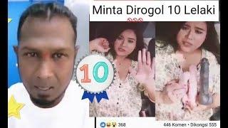 Download Video VIRAL Perempuan Melayu minta dirogol 10 orang lelaki India atau cina MP3 3GP MP4