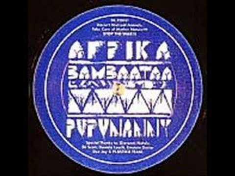 AFRIKA BAMBAATAA- Pupunanny