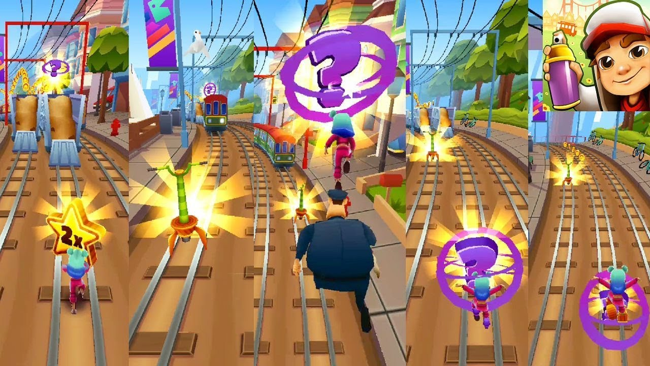 SUBWAY SURFERS : 26 SUPER MYSTERIZERS IN A 1M+ POINTS RUN!