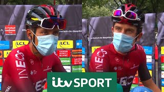 """I want Froome at the Tour!"" - Bernal and Thomas pre Dauphine 