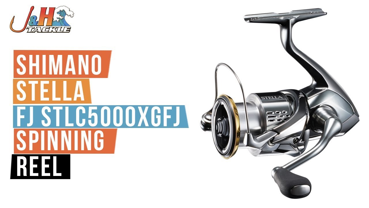 Shimano Stella FJ STLC5000XGFJ Spinning Reel | J&H Tackle