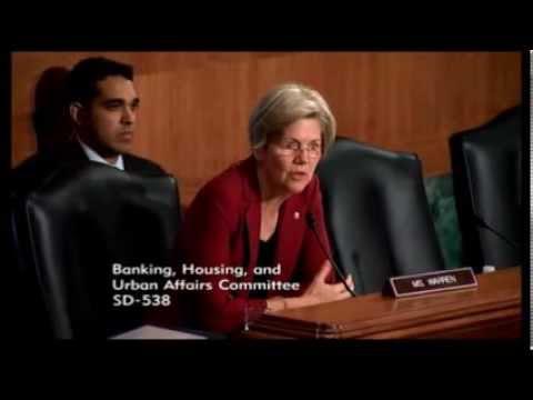 Senator Elizabeth Warren - Banking Committee Nominations Hearing -  09-10-2013