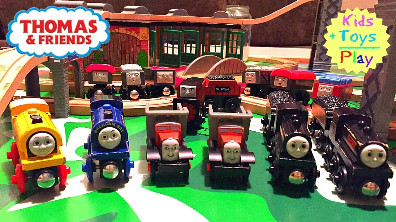 Thomas And Friends Wooden Play Table Donald Douglas Playtime Playing With Trains