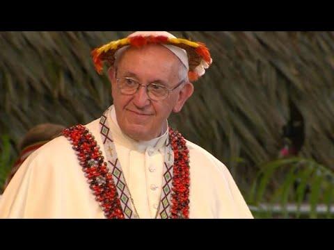 Papa fala sobre violência contra as mulheres