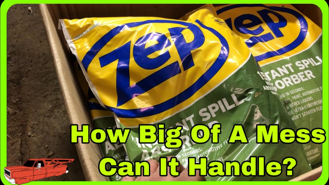 Download Zep Instant Spill Absorber Product Review: Extreme Spill Clean Up