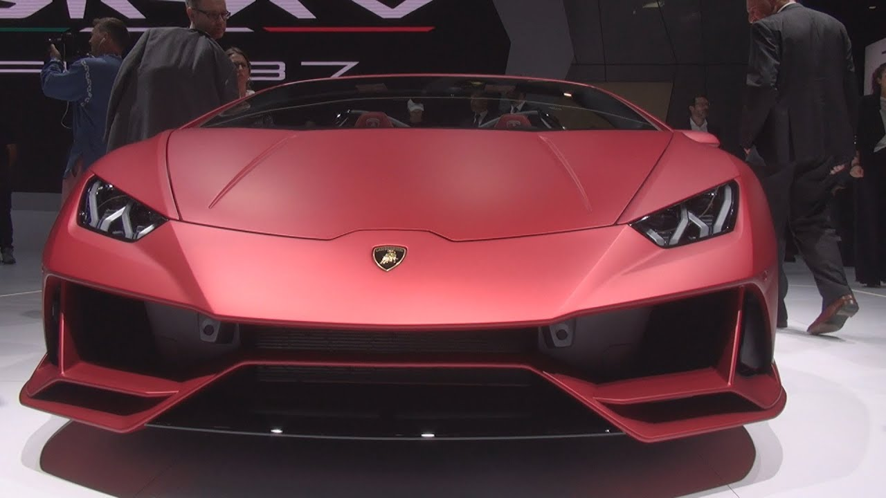 Lamborghini Huracán EVO Spyder (2020) Exterior and ...