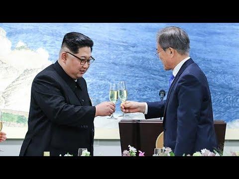 Kim Jong-un meets with South Korean president at historic summit