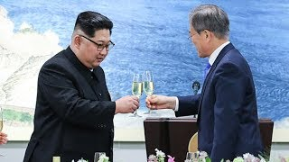 Kim Jong-un meets with South Korean president at historic summit