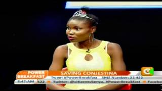 Power Breakfast: Saving Conjestina