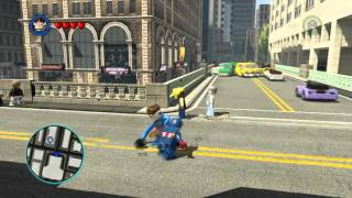 LEGO MARVEL Super Heroes - Captain America Kills Mister Fantastic (1080p)