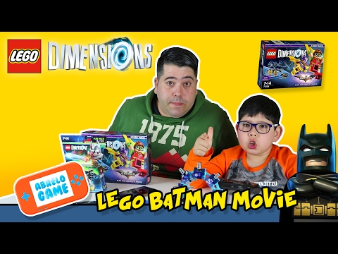 Lego Dimensions Story Pack Lego Batman Movie Unboxing y Gameplay en Español I Abrelo Game Lego