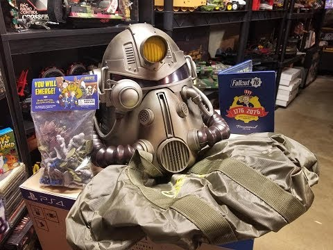 Fallout 76 Power Armor Edition Unboxing Playstation 4 Version Collectors Edition