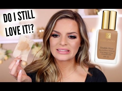 THROWBACK THROWDOWN: Estee Lauder Double Wear Foundation | Casey Holmes