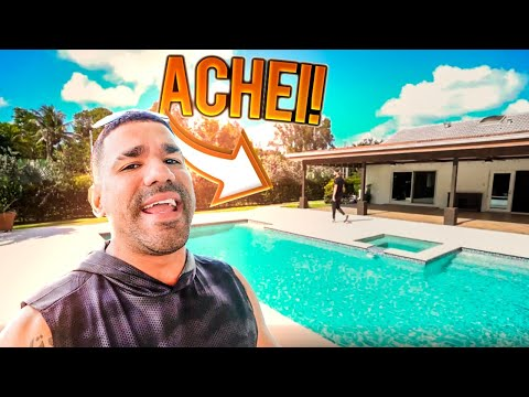 Em busca da Mansão 2k em Miami  Vlog 174