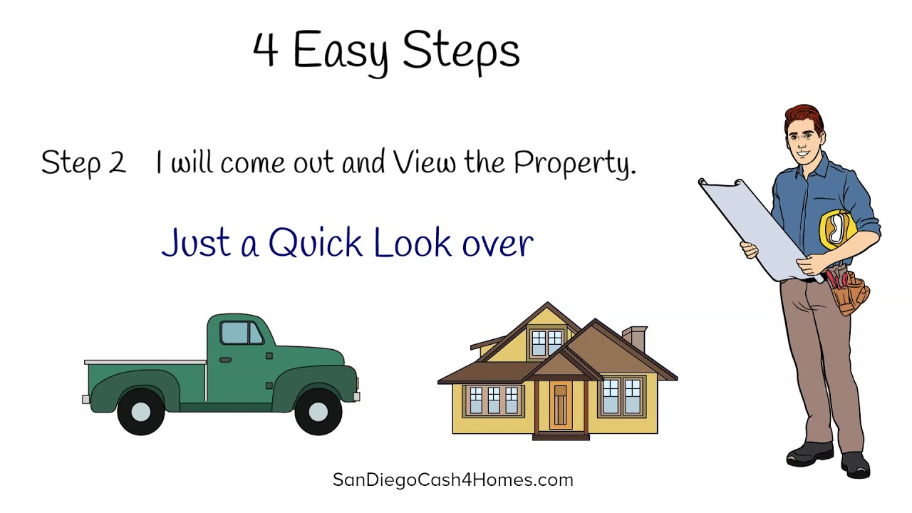 San Diego Cash 4 Homes 4 Easy Steps to Sell
