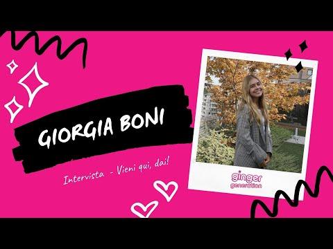 Giorgia Boni parla del suo primo singolo Vieni qui, dai! | Intervista
