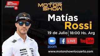 Entrevista a Matias Rossi - Motor Show Río Cuarto 2020