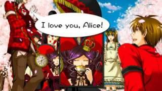 『ジョーカーの国のアリス』のOPムービーです。ヒサノさんが歌ってます。