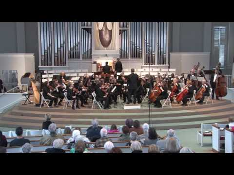 Symphony for Organ and Orchestra Guilmant #1 in d minor/Major - Kraig Windschitl, Organist