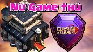 Nữ Game Thủ 17 Tuổi Bay Cúp TH9 Huyền Thoại Clash of clans | Akari Gaming