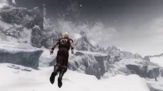 Skyrim Mods PC - Aerial Combat (PCEA2 Hover Animations + Flying Spell)
