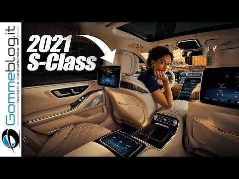2021 Mercedes S-Class - The MOST HI-TECH Car Ever Made?