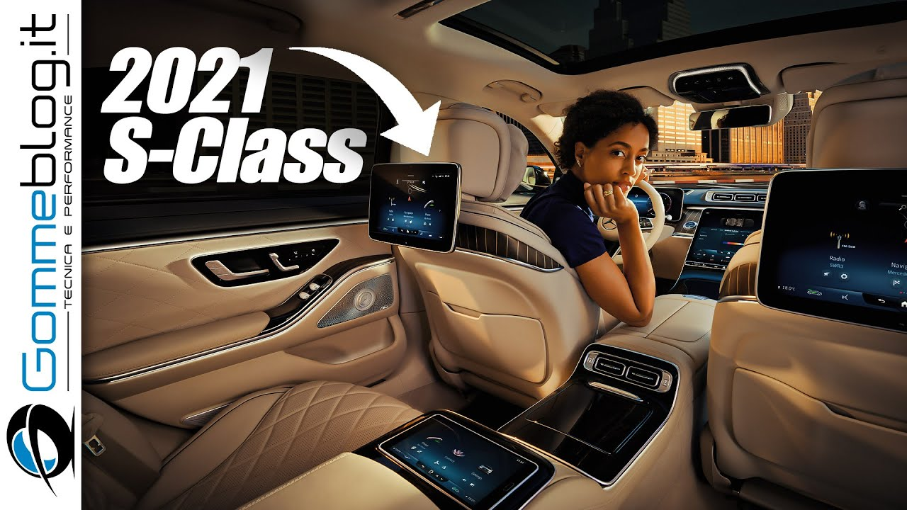 2021 Mercedes S-Class - The MOST HI-TECH Car Ever Made?