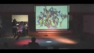 Drunkard Kung fu show the way of light  Shen Chien school