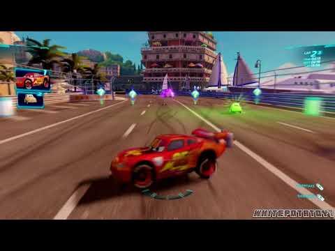 Cars 2: The Video Game | Lightning McQueen - Casino Tour! | WhitePotatoYT!