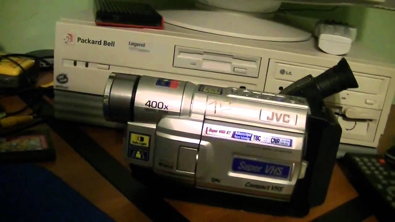 Jvc Gr Sxm735 Super Vhs C Camcorder Youtube