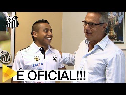 Vladimir Hernández assina e é mais um reforço do Peixe