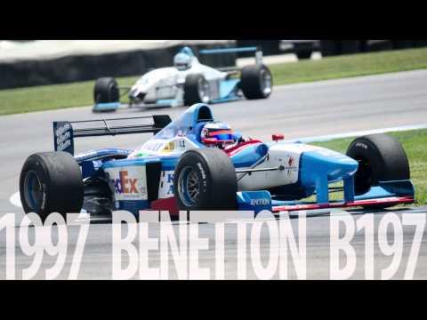 Jordan 197 & Benetton B197 - 2015 Indianapolis Vintage Invitational