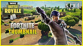 Professional Fortnite Thumbnail Template
