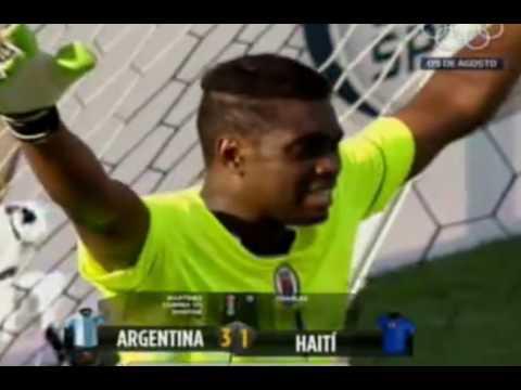 ARGENTINA 3 HAITÍ 1 AMISTOSO 2016 SUB-23 _ TODOS LOS GOLES RESUMEN