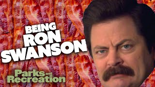 The ESSENTIAL Guide To Being RON F**** SWANSON | Parks and Recreation | Comedy Bites