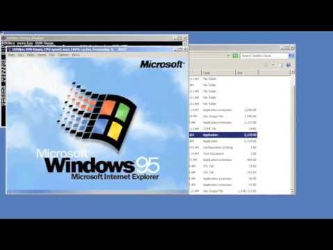 Installing Windows 95 in DOSBox Part 1