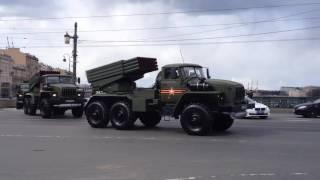 Военная техника с парада 9 Мая 2017 Санкт Петербург