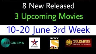 8 New Released - 3 Upcoming South Hindi Movies (June 3rd Week) | World Television Premiere