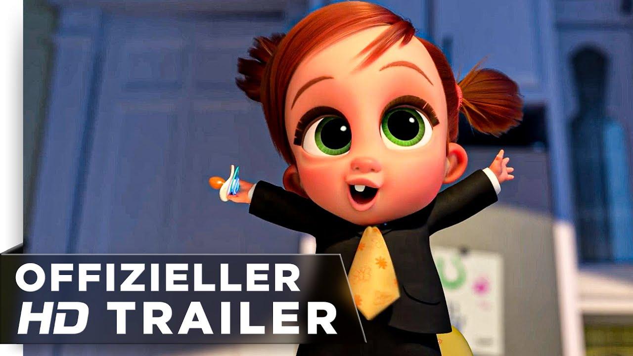 Boss Baby - Es bleibt in der Familie Trailer deutsch/german HD