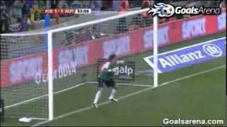 Барселона  - Альмерия 3-1 09.04.2011 обзор, голы