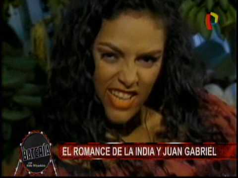 Nota -  El Romance de la India y Juan Gabriel