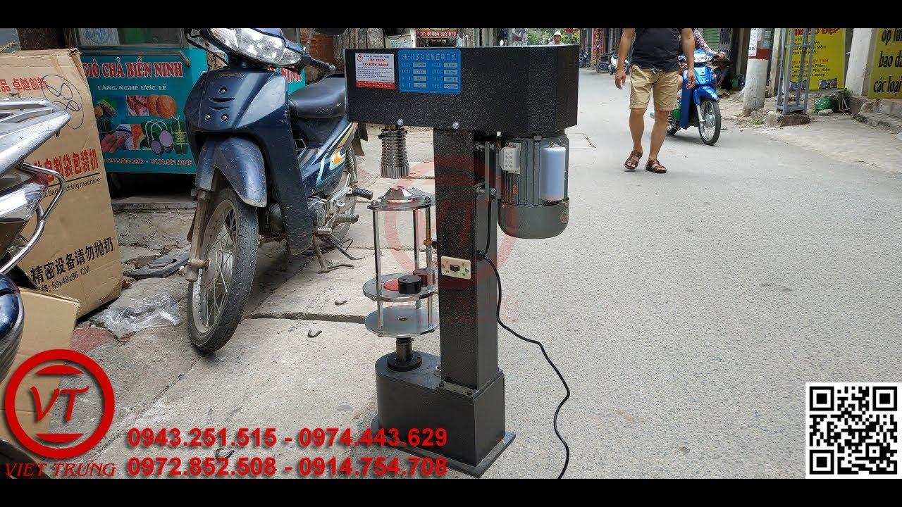 Máy xoáy nắp chai SK-40 | Việt Trung