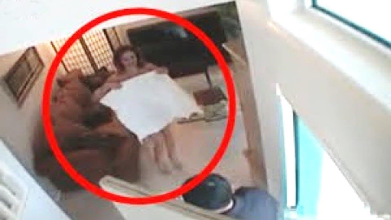 هذه الفتاة لم تكن تعلم ان هناك كاميرات في المكان .. أنظروا ماذا فعلت