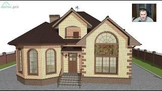 Красивый мансардный жилой дом для большой семьи E-264-ТП(, 2017-07-13T06:51:09.000Z)