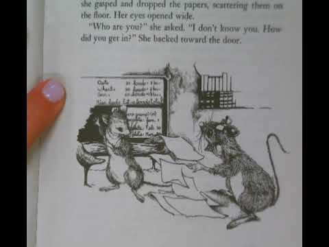 Mrs. Frisby And The Rats Of NIMH- Isabella (ch 12)